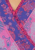 Maya Prass - Sugar Pie Wrap Blouse Pink
