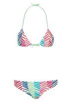 Lizzy - Maryland Teen bikini set Green