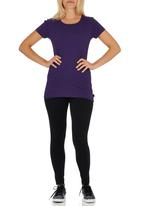 Lithe - Basic Tee Dark Purple