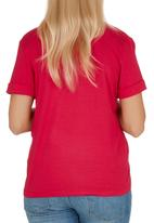c(inch) - Printed t-shirt Mid Pink