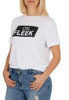 c(inch) - On Fleek T-shirt White