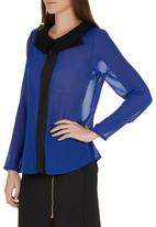 c(inch) - Square Blouse Mid Blue  Mid Blue