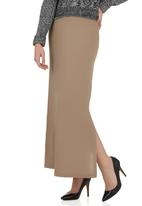 edit - Maxi Skirt with Side Slit Stone