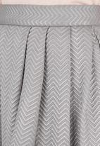 STYLE REPUBLIC - Metallic high waisted midi skirt Pale Pink