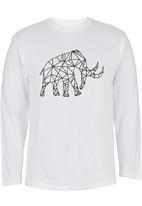 Ice Age - Long-sleeve Mammoth T-shirt White