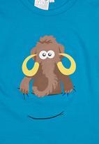 Ice Age - Mammoth Long-sleeve Top Blue