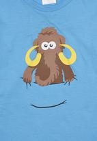 Ice Age - Long-sleeve Mammoth Top Blue Pale Blue