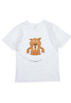 Ice Age - Short-sleeve Tiger Top White