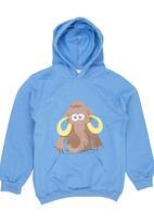 Ice Age - Mammoth Hoodie Mid Blue Mid Blue