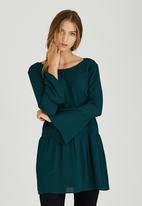 c(inch) - Boho Tunic Dark Green