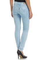 Levi's® - 535 Denim Leggings Blue Blue black denim