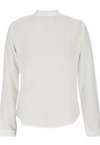 STYLE REPUBLIC - Open-back Blouse White