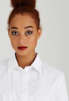 edit - Structured Work Shirt White