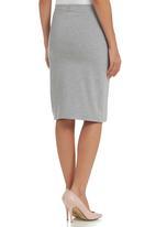 Paige Smith - Wrap Skirt Grey