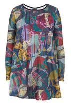 London Hub - Abstract-print Tunic Multi-colour