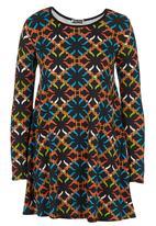 London Hub - Diamond-print Tunic Multi-colour