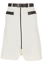 edit - A-line Midi Skirt Ivory