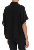STYLE REPUBLIC - Oversized Shirt Black