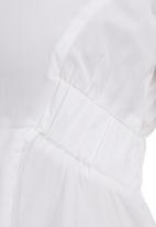 Leigh Schubert - Longer-length Tunic White