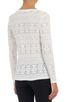 Suzanne Betro - Burnout T-shirt White