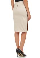 STYLE REPUBLIC - Pencil Skirt Champagne