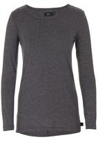 Lithe - Basic Long-sleeve T-shirt Dark Grey  Dark Grey