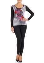 Smash - Abstract T-shirt Multi-colour