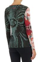 Smash - Abstract Floral-print T-shirt Multi-colour