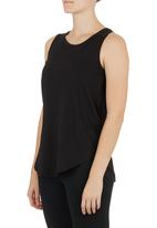 Lithe - Basic Swing Vest Black