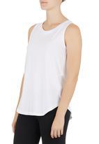 Lithe - Basic Swing Vest White
