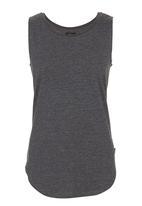 Lithe - Basic Swing Vest Dark Grey Dark Grey