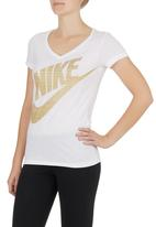 Nike - Futura Shine Top White