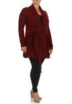 Style Republic - Banggood - Tie Knit Black Dark Red