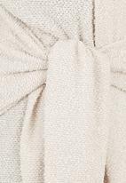 STYLE REPUBLIC - Tie-knit Jersey Milk