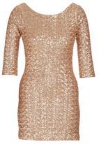 c(inch) - Sequin Dress Gold