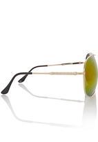 e671b1b6e9 Mirror Aviators Yellow Jungle Beat Eyewear