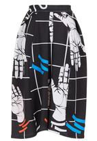 SELFI - Floating Hands Skirt Black