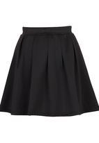c(inch) - Volume Mini Skirt Black