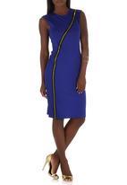 TART - Zip Dress Cobalt