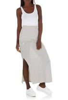 c(inch) - Maxi Skirt Black and White