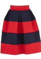 STYLE REPUBLIC - Midi Skirt Multi-colour