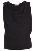 edit - Cowl Cami Black