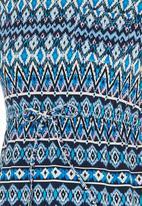 Rebel Republic - Drawstring dress Multi-colour