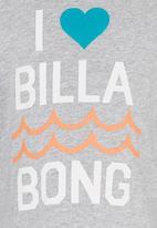 Billabong  - I Love Tshirt Grey