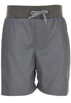 See-Saw - Rib Waist Shorts Grey