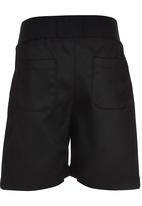 See-Saw - Rib Waist Shorts Black