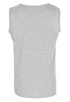 Billabong  - Printed Vest Grey Melange