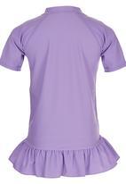 Billabong  - Stripe Rash Vest & Bikini Shorts Multi-colour