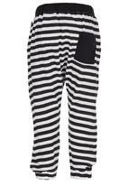 Billabong  - Striped Harems Black and White