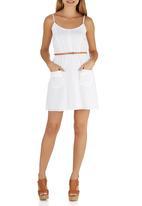 63ea16f7842c Broderie Summer Dress White Girls on Film Casual